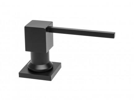 Adagoló - négyzet alakú Fekete