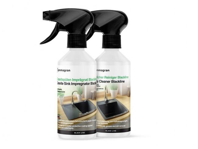 Impregnálószer és mindennapos ápolószer készlet gránit mosogatókhoz