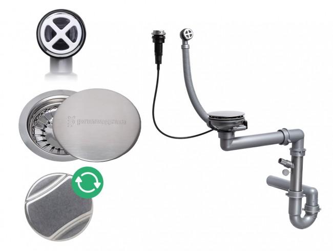 Egymedencés automatikus szifon
